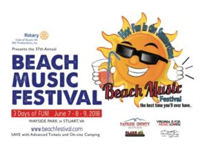 We Are Celebrating 37 Years Of Hot Fun In The Summertime S Beach Music Festival Stuart Va At Wayside Park On June 7th 9th 2018